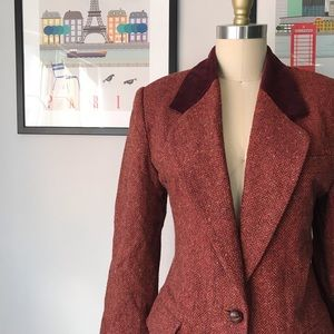 Vintage • Need for Tweed Longline Blazer